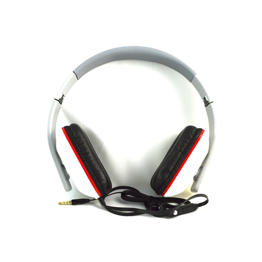 LANGSTON Best Quality Super Bass Foldable Stereo Headset with Mic HF-9-WHITE