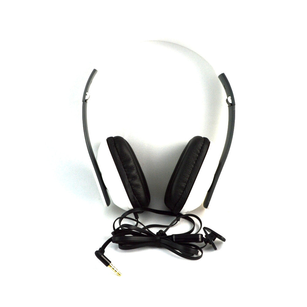 LANGSTON High Bass Foldable Stereo Headset with Microphone HF-8-WHITE
