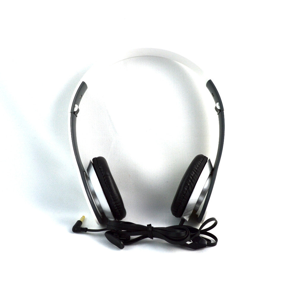 LANGSTON Foldable Stereo Headset with Microphone HF-7-WHITE