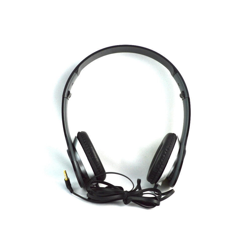 LANGSTON Foldable Stereo Headset with Microphone HF-7-BLACK