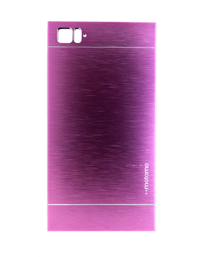 Motomo Metallic Design Mobile Cover - Back Cover for Xiaomi Mi 3 - PURPLE