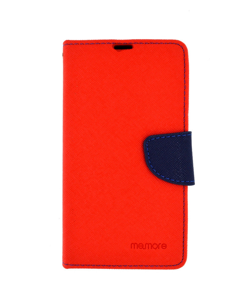 Stylish Flip Cover for Xiaomi Mi3 - RED