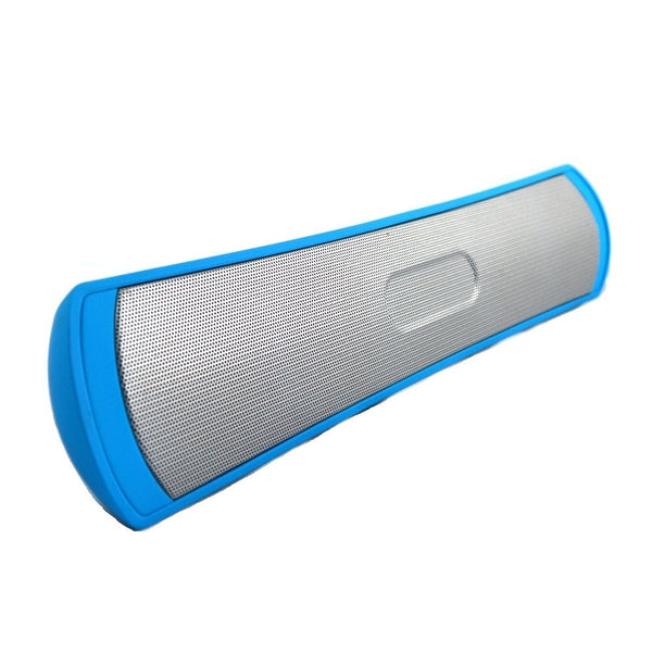 Wireless Bluetooth Speaker cum Music Player for Loud Music-BLUE