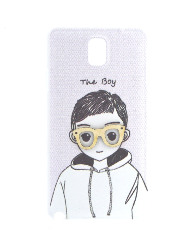 Smiling Innocent Boy Mobile Cover for Samsung Galaxy Note 3