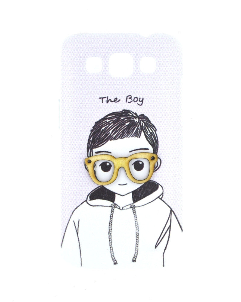 Innocent Smiling Boy Mobile Cover for Samsung Galaxy Win i8552