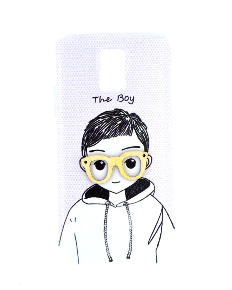 Happy boy with Innocent Smile Mobile Cover for Samsung Galaxy S5