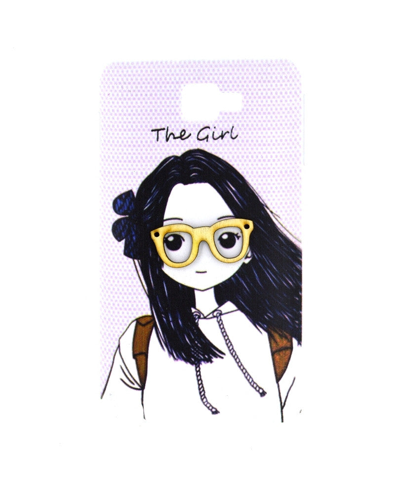 The Girl with Specs Design Mobile Cover for Samsung Galaxy Note 1