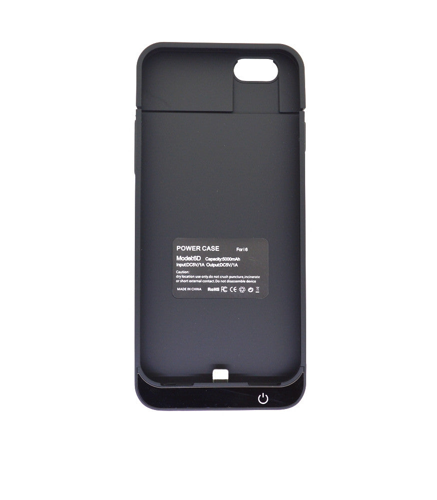Exclusive Power Charging Mobile Case & Cover of 5000mAh for Apple iPhone 6
