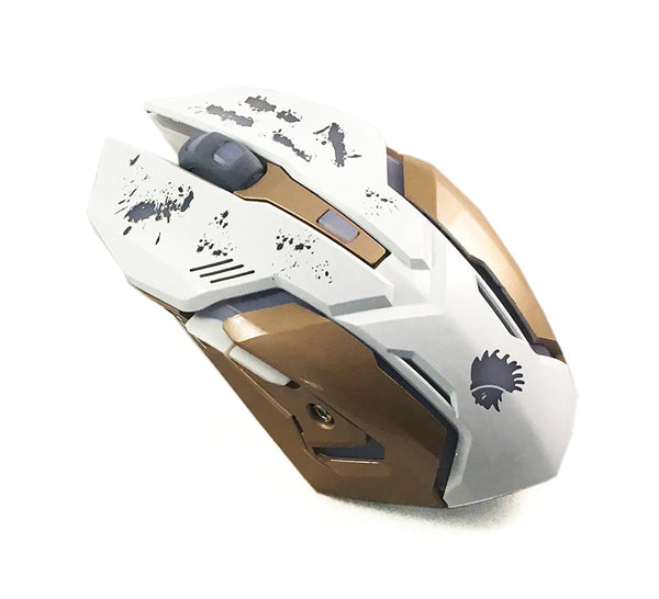 Mobilegear XM-502 Wired Gaming Mouse (Multi) - Integrated 2500 dpi Optical Gaming Sensor