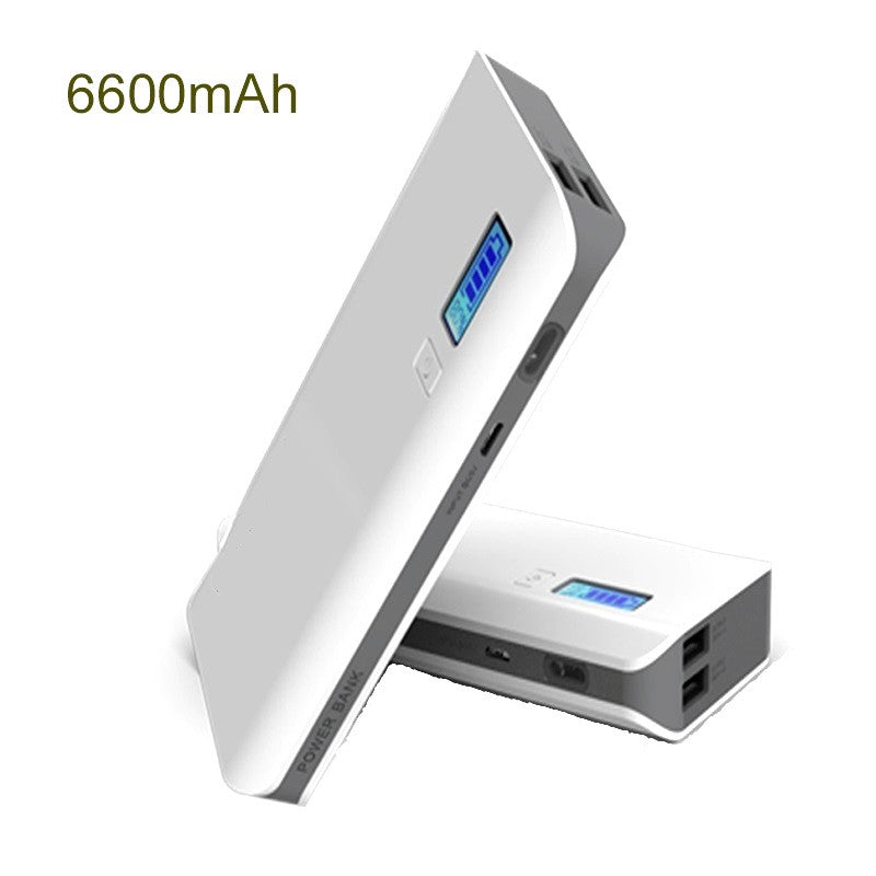 Lambo Fast Charging Power Bank 6600 mAh with Digital Indicator
