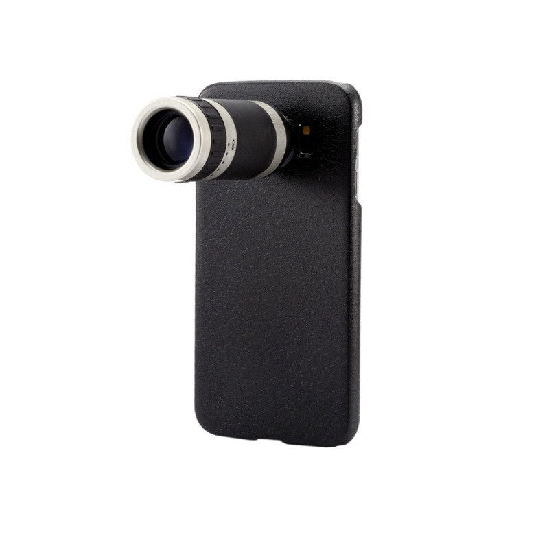 8x Optical Zoom Telescope Mobile Camera Lens with Back Cover  For Samsung S6