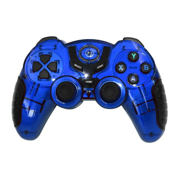 Wireless USB Bluetooth Mobile Joystick Gamepad - Blue