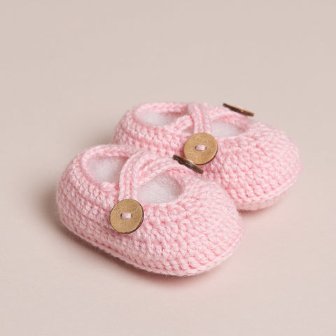 Baby Crossed Strap Shoes Four Colours