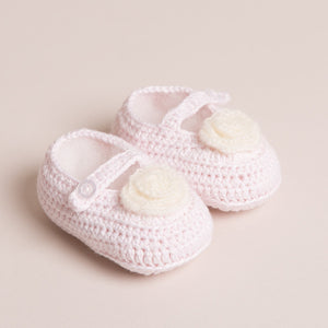 Bamboo Baby Mary Jane Shoes (Pink)