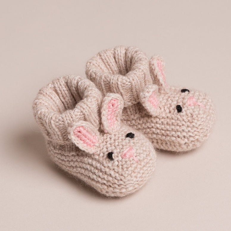 Bunny Cashmere Booties