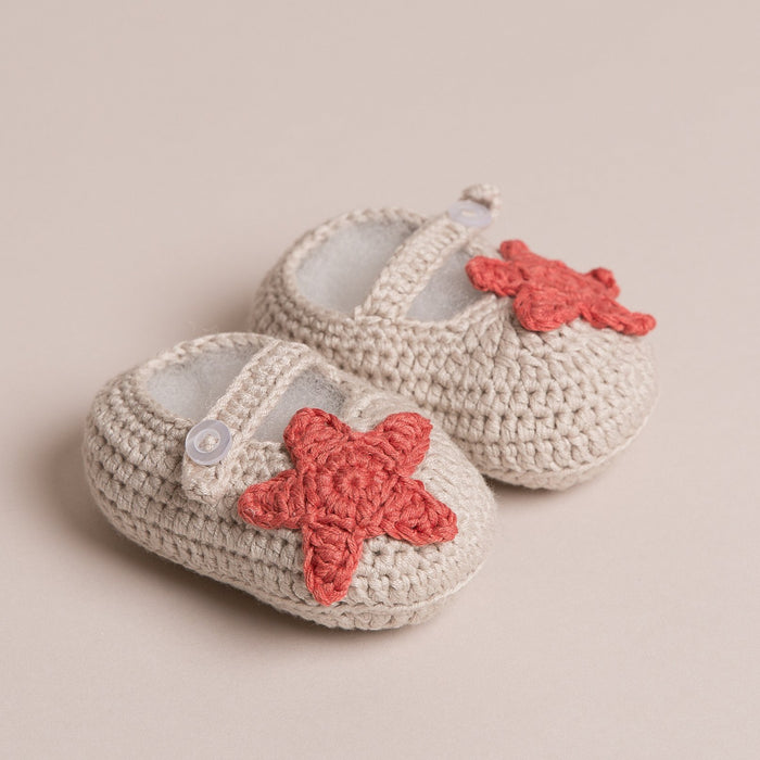 Handmade Star Baby Shoes
