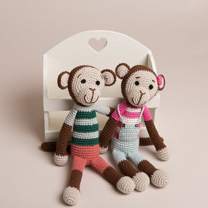 Hand Crochet Cheeky Monkeys