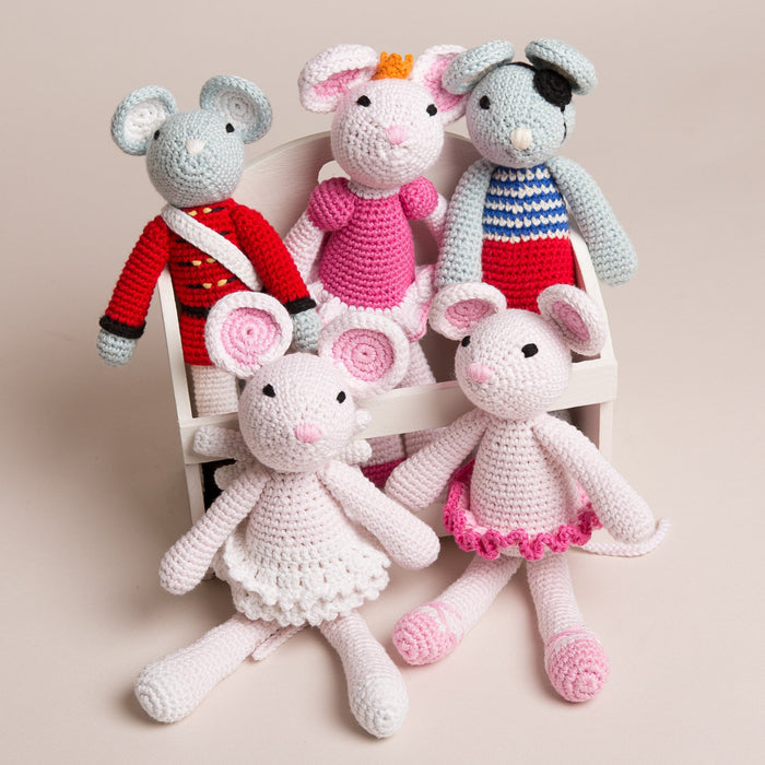 Hand Crochet little mice