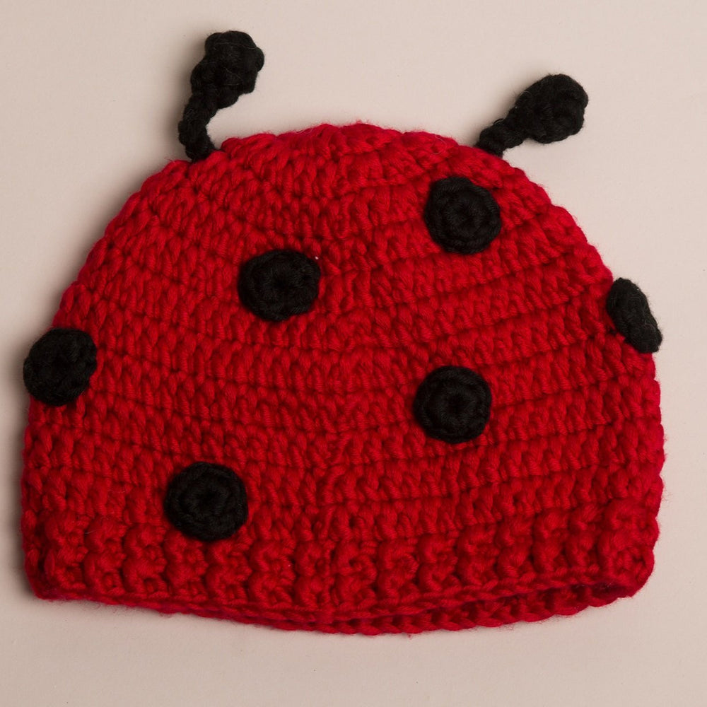 Load image into Gallery viewer, Ladybird Baby Hat