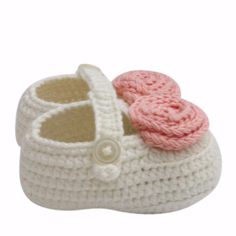 Baby's Mary Jane Shoes (Cream)