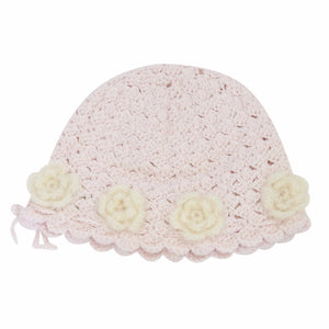 Load image into Gallery viewer, Baby's Flower Hat