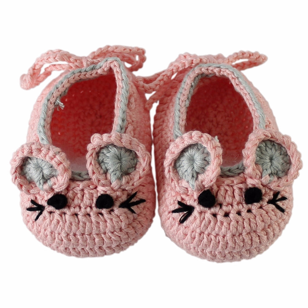 Baby Mouse Shoes (Pink)