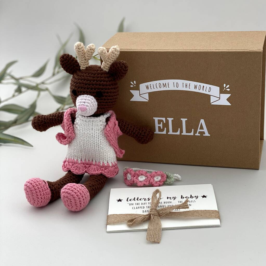 Personalised Handmade Playful Deer