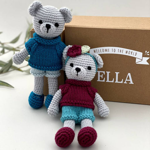 Personalised Handmade Playful Teddy
