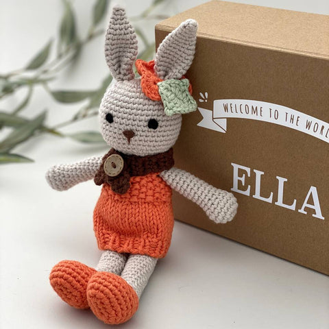 Personalised Keepsake Bunny In Costume
