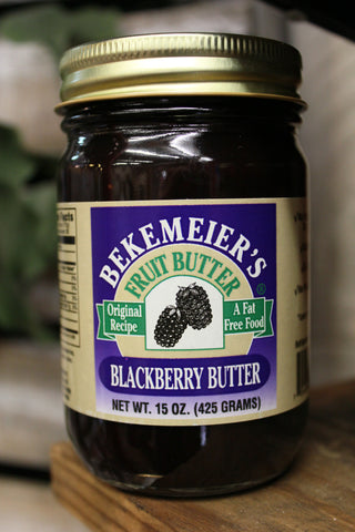 Bekemeier's Blackberry Butter - Main Street Alley Jams and Jellies Homemade in Branson, Missouri