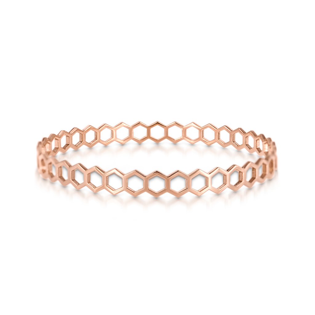 Honeycomb Bangle -  Pinner