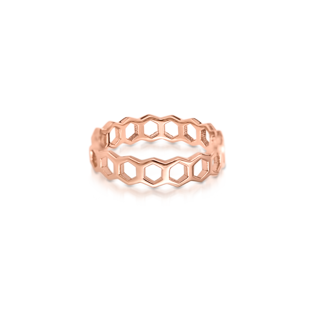 Honeycomb Ring -  Pinner