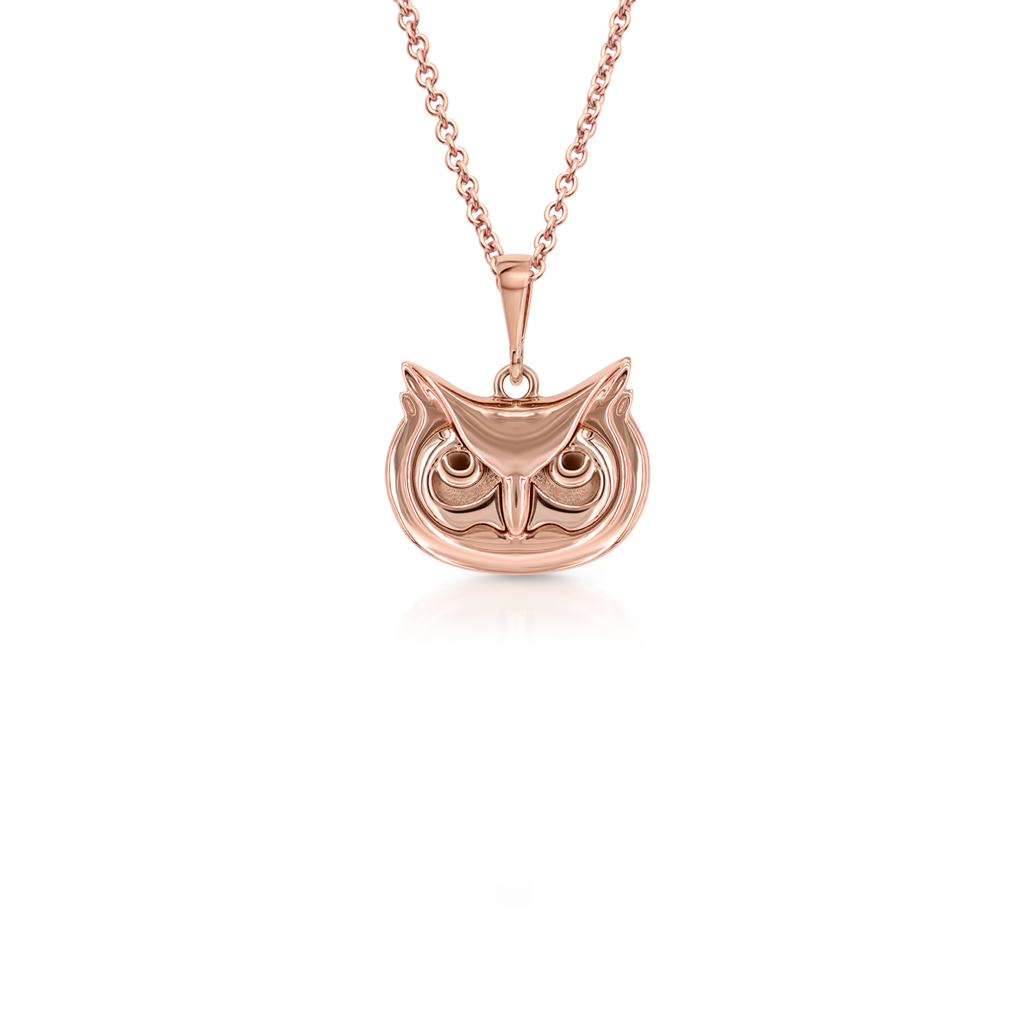 Owl Micropendant -  Pinner