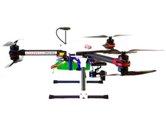 Endurance Drones Y6 Hexacopter side view