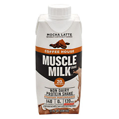 CytoSport Coffee House Muscle Milk RTD - Mocha Latte - 12 ea - 00876063006460