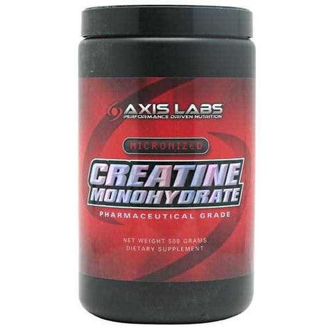 Axis Labs Micronized Creatine Monohydrate - TrueCore Supplements