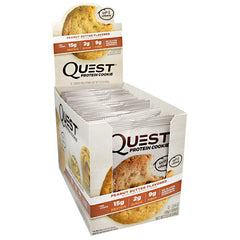 Quest Nutrition Quest Protein Cookie - Peanut Butter - 12 ea - 888849006052