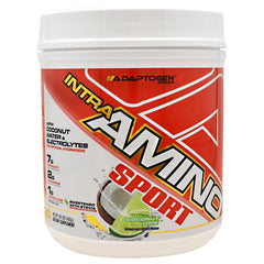 Adaptogen Science Intra-Amino Sport - Coconut Lime - 30 Servings - 864313000405