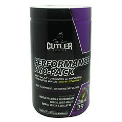 Cutler Nutrition Performance Pro-Pack - 30 ea - 810150021059