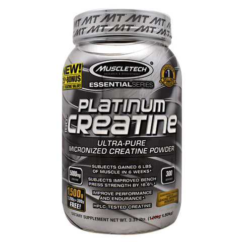 MuscleTech Essential Series 100% Platinum Creatine