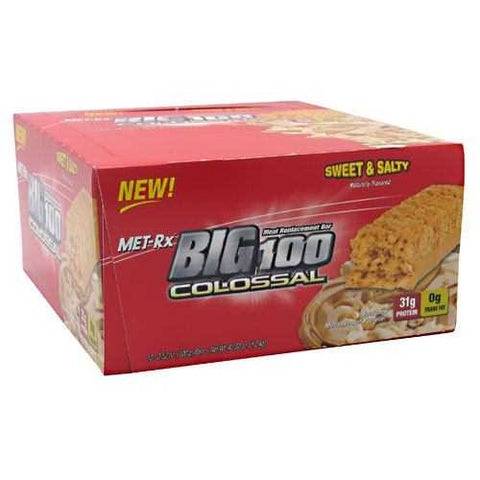 MET-Rx Big 100 Colossal Meal Replacement Bar - TrueCore Supplements  - 1