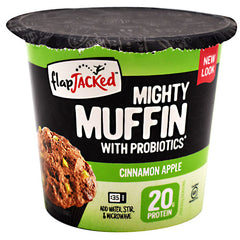 FlapJacked Mighty Muffin - Cinnamon Apple - 12 ea - 10850171005161