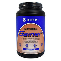 MRM Natural Natural Gainer - Chocolate - 3.3 lb - 609492730046