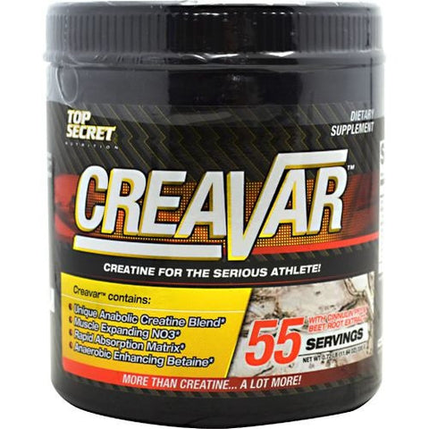 Top Secret Nutrition Creavar - TrueCore Supplements