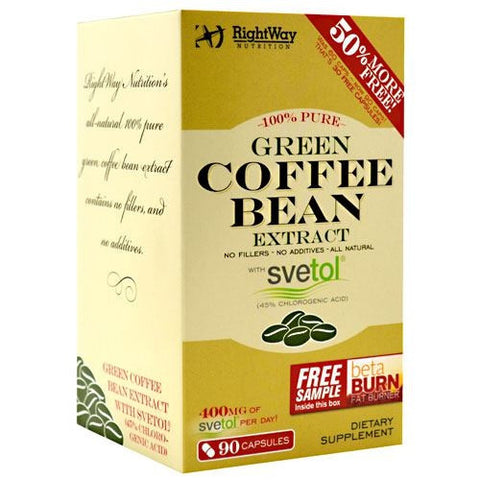 Rightway Nutrition Green Coffee Bean Extract - TrueCore Supplements
