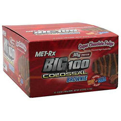 MET-Rx Big 100 Colossal High Protein Brownie Bar - TrueCore Supplements