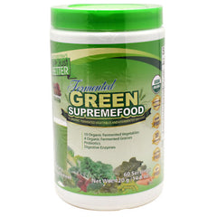 Divine Health Green Supreme Food - Apple Cinnamon - 60 Servings - 855522003332