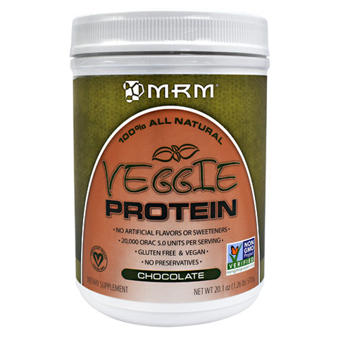 MRM Veggie Protein - Chocolate - 15 Servings - 609492722300