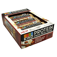 Kind Snacks Protein Bar - White Chocolate Cinnamon Almond - 12 Bars - 602652208010