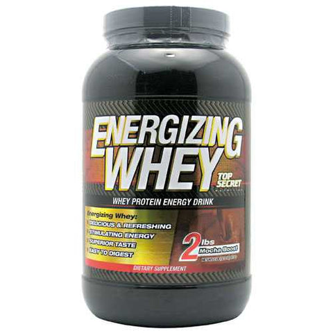 Top Secret Nutrition Energizing Whey - TrueCore Supplements